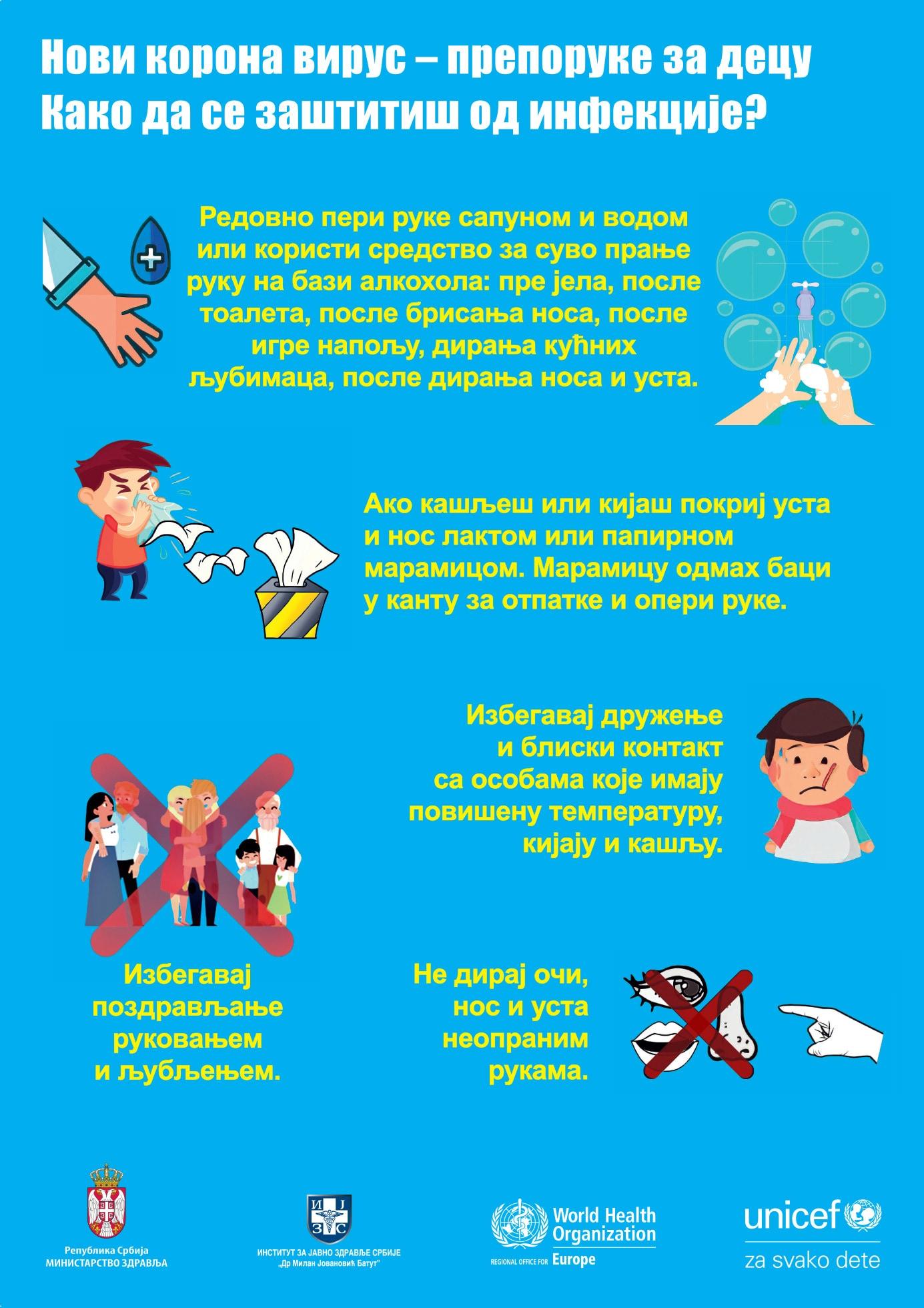 Kako da se zaštitiš od infekcije? 1
